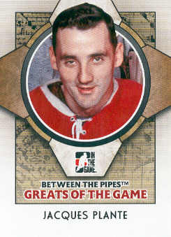 2008-09 Between The Pipes #76 Jacques Plante