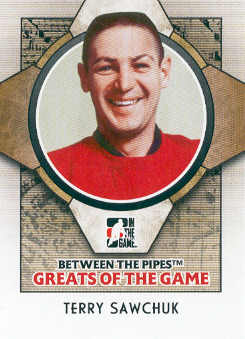 2008-09 Between The Pipes #79 Terry Sawchuk