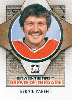 2008-09 Between The Pipes #81 Bernie Parent