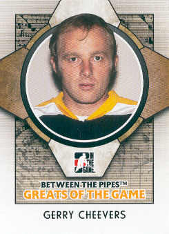 2008-09 Between The Pipes #85 Gerry Cheevers