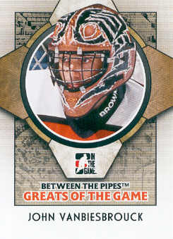 2008-09 Between The Pipes #87 John Vanbiesbrouck