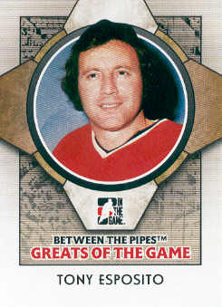 2008-09 Between The Pipes #90 Tony Esposito front image