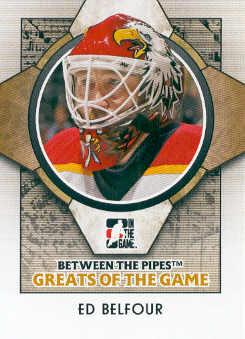 2008-09 Between The Pipes #91 Ed Belfour