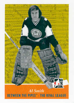 2008-09 Between The Pipes #95 Al Smith