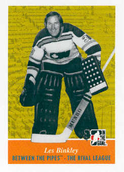 2008-09 Between The Pipes #99 Les Binkley