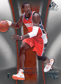 2006-07 SP Game Used #10 Gerald Wallace