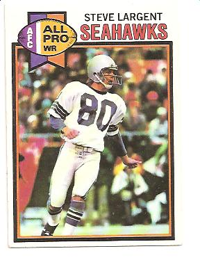 1979 Topps #198 Steve Largent