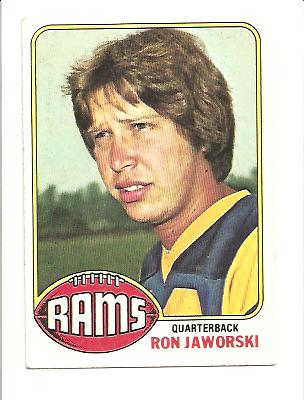 1976 Topps #426 Ron Jaworski RC