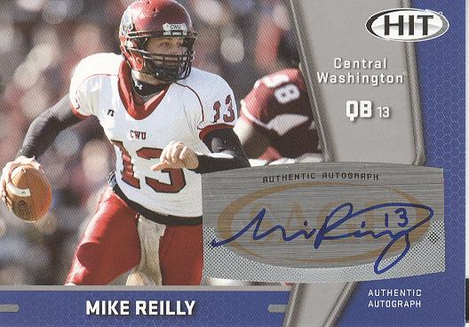 2009 SAGE HIT Autographs Silver #31 Mike Reilly