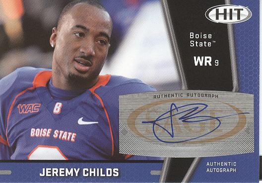2009 SAGE HIT Autographs #49 Jeremy Childs