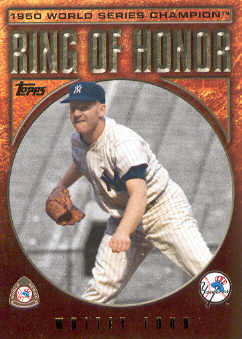 2009 Topps Ring Of Honor #RH2 Whitey Ford