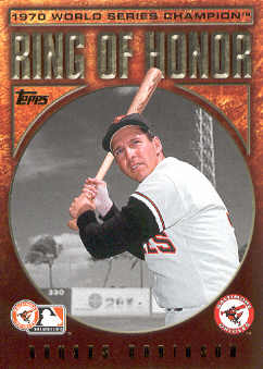 2009 Topps Ring Of Honor #RH10 Brooks Robinson