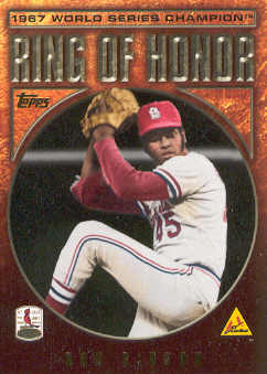 2009 Topps Ring Of Honor #RH18 Bob Gibson
