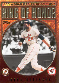 2009 Topps Ring Of Honor #RH28 Frank Robinson