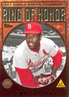 2009 Topps Ring Of Honor #RH40 Bob Gibson