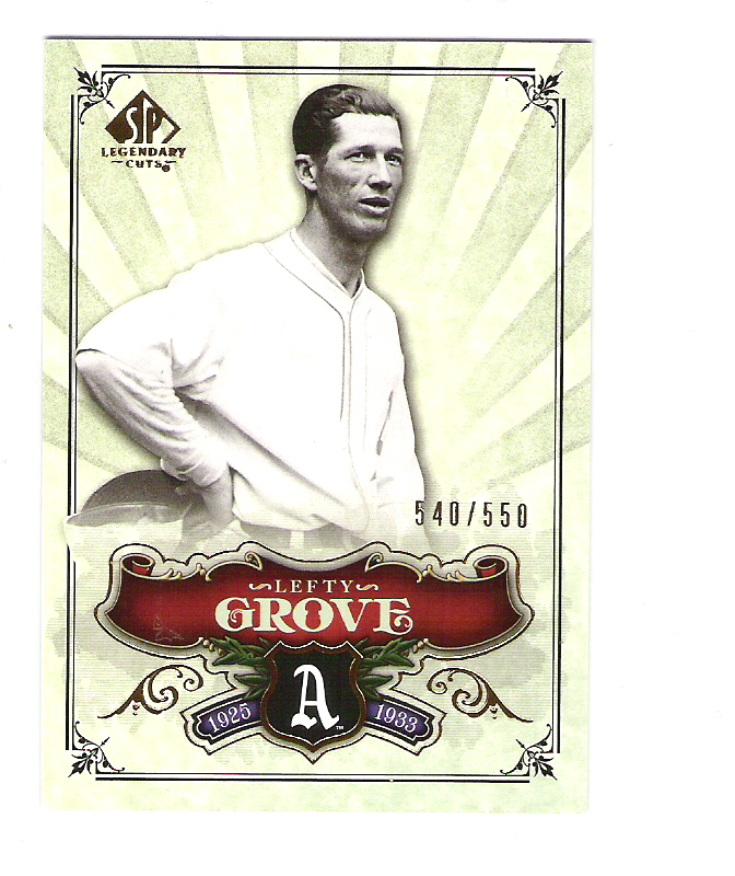 2006 SP Legendary Cuts #200 Lefty Grove