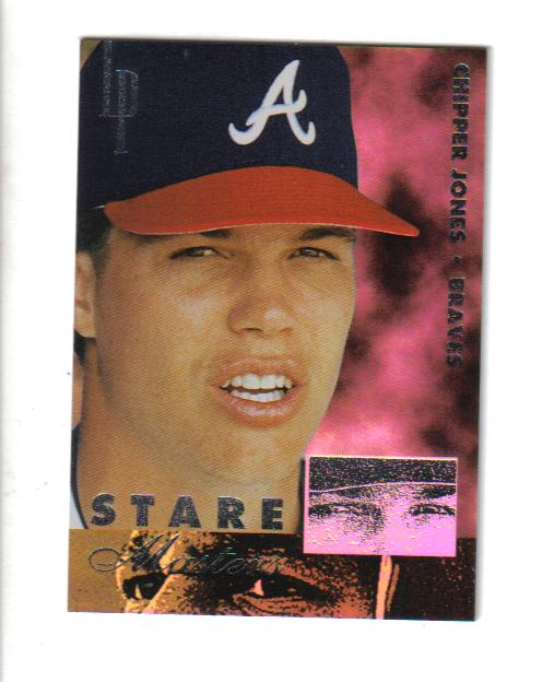 1996 Leaf Preferred Staremaster #1 Chipper Jones