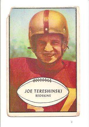 1953 Bowman #5 Joe Tereshinski