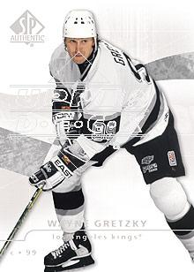 2008-09 SP Authentic #2 Wayne Gretzky
