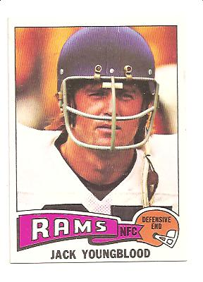 1975 Topps #60 Jack Youngblood