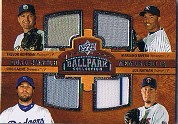 2008 Upper Deck Ballpark Collection #207 Trevor Hoffman/Mariano Rivera/Eric Gagne/Joe Nathan