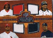 2008 Upper Deck Ballpark Collection #220 Vladimir Guerrero/Manny Ramirez/Albert Pujols/Carlos Lee