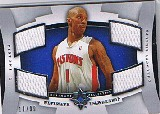2007-08 Ultimate Collection Leadership #CB Chauncey Billups