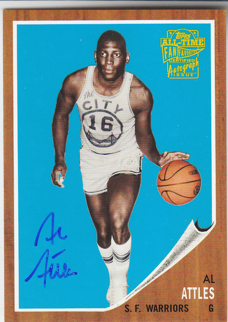 2005-06 Topps Style Fan Favorites Autographs #AAT Al Attles