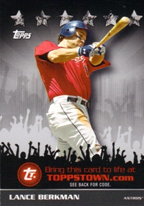 2009 Topps Topps Town #TTT20 Lance Berkman