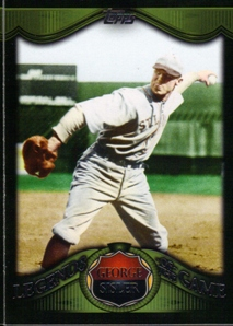 2009 Topps Legends of the Game #LG8 George Sisler