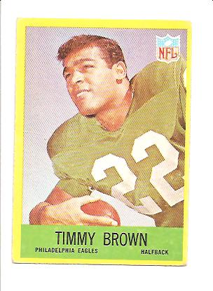 1967 Philadelphia #136 Timmy Brown