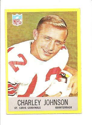 1967 Philadelphia #161 Charley Johnson
