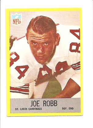 1967 Philadelphia #162 Joe Robb