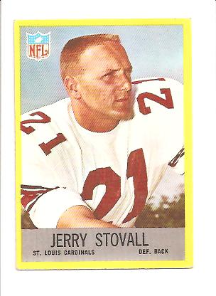 1967 Philadelphia #166 Jerry Stovall