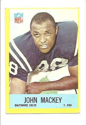 1967 Philadelphia #20 John Mackey