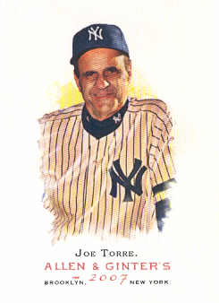2007 Topps Allen and Ginter #172 Joe Torre