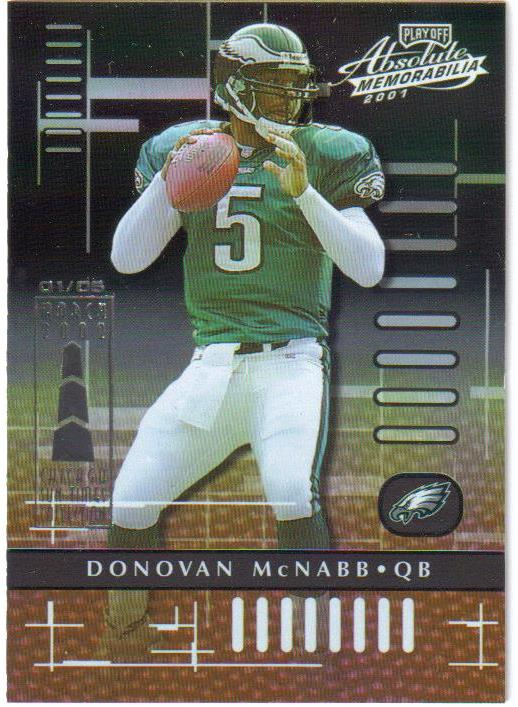 2001 Absolute Memorabilia Chicago Collection #72 Donovan McNabb