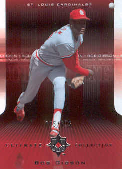 2004 Ultimate Collection #4 Bob Gibson