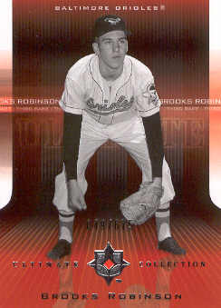 2004 Ultimate Collection #7 Brooks Robinson