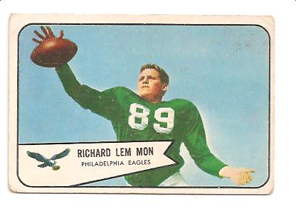 1954 Bowman #114 Richard Lemmon RC