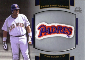 2003 Sweet Spot Classics Patch Cards #TG1 Tony Gwynn