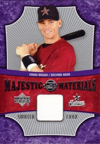2005 Sweet Spot Majestic Materials #CB Craig Biggio