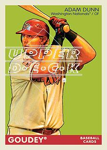 2009 Upper Deck Goudey #1 Adam Dunn