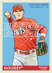 2009 Upper Deck Goudey #3 Stephen Drew
