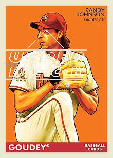 2009 Upper Deck Goudey #4 Randy Johnson
