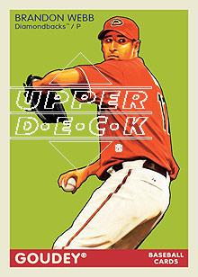 2009 Upper Deck Goudey #5 Brandon Webb