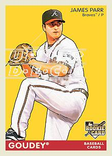 2009 Upper Deck Goudey #10 James Parr (RC)