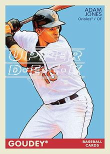 2009 Upper Deck Goudey #15 Adam Jones