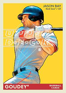 2009 Upper Deck Goudey #22 Jason Bay
