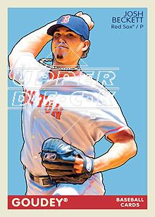 2009 Upper Deck Goudey #23 Josh Beckett